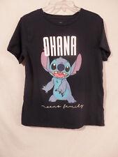 Disney Parks Lilo & Stitch Ohana Stitch T-Shirt Child's 15-17
