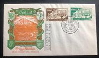 1958 Dublin Ireland First Day Cover FDC Errigal Mountain