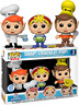 Snap! Crackle! Pop! Rice Krispies Ad Icons Funko Pop Vinyls New in Mint Box