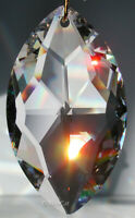 8745-38mm SWAROVSKI Marquis Cats Eye Austrian Crystal ClearPrism 1-3/8 inch