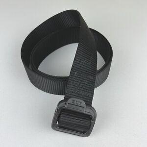 "5.11 Tactical Black TDU Belt 2XL 44""-46"" Law Enforcement Nylon Adjustable Belt 5"