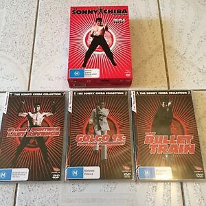 EASTERN EYE SONNY CHIBA DVD COLLECTION BOXSET GOLGO BULLET TRAIN STREET FIGHTER