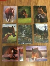 8 Single Swap Horse  Mare Foal Playing Cards