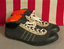 Vintage 1920s Viking Football/Rugby Sneakers Turf Cleats Size 45 Norway 10.5-11