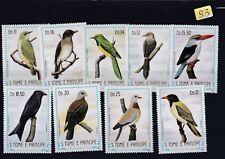 Lot 93 Timbres Neuf Sao Thomé et Principe 9 timbres d'oiseaux de 1983