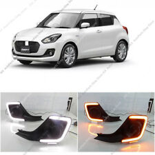 LED Daytime Running Lights DRL lamp w/Turn Signal For Suzuki Swift 2017 18 2019