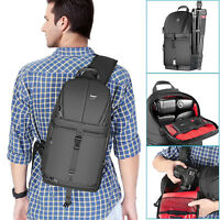 Neewer Shockproof Camera Storage Sling Bag Protection Case for Canon Nikon Sony