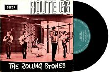 "ROLLING STONES - ROUTE 66 - RARE EP 7"" 45 VINYL RECORD PIC SLV"