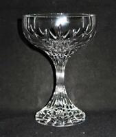 "Baccarat Crystal MASSENA Champagne or Tall Sherbet Glass, 5 1/2"" Tall"