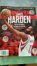 BRAND NEW UNREAD NO MAILING NBA HOUSTON ROCKETS JAMES HARDEN SPORTS ILLUSTRATED