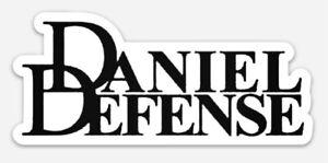 Daniel Defense Custom Logo Die Cut Magnet for Fridge or Toolbox Firearms Gun