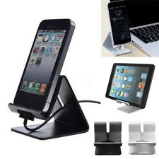 Universal Metal Aluminum Alloy Desktop Holder Mount Stand For Phone &Tablet PC