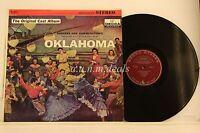 "OKLAHOMA - Original Broadway Cast Album - Decca Records  LP 12"" (VG)"