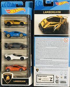 hot wheels Lamborghini 5 Pack (SALE)