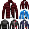 Herren Warm Winterjacke Daunen Mantel Dick Freizeit Jacke Steppjacke Outwear Top