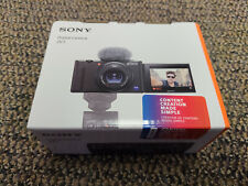 Brand New Sony ZV-1 Camera for Content Creators and Vloggers WHITE + US Warranty