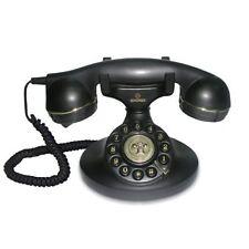 New Deluxe Corded Telephone Vintage Retro House Phone Classic Style Ringer Uk