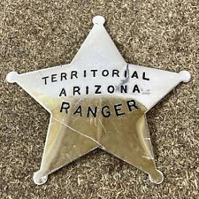 New ListingFranklin Mint 1987 Sterling Silver Territorial Arizona Ranger Badge