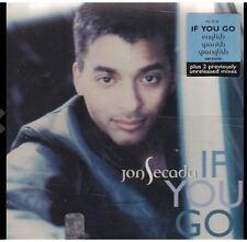 If You Go - Si Te Vas - Secada Jon - 5 TRACK MUSIC CD - LIKE NEW - F290