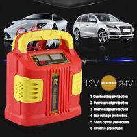350W Chargeur de batterie LCD voiture 12-24V auto Voitures Recharger démarrage