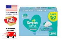 Pampers Scented Baby Wipes, Complete Clean (1200 ct.) Fast Delivery!