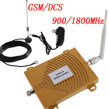 GSM DCS 900MHz/1800MHz Cell Phone Amplifier Dual Band 3G Signal Booster Expander