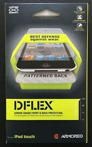 Griffin Armored DFLEX Armor-Grade Front & Back Protection for iPod Touch 4 Gen