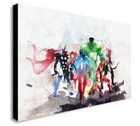 Marvel Super Heroes Avengers - Canvas Wall Art Framed Print - Various Sizes