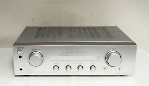 SONY TA-FE370 SILVER INTEGRATED STEREO AMPLIFIER TWIN DRIVE