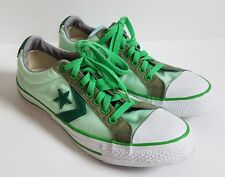 Converse All Star Sneakers Mens 9 Womens 11 Undefeated Flag Green Ox Shoes Skate