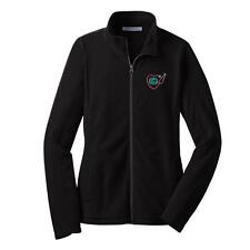 L223 Teacher Apple Monogram Full Zip Micro-Fleece Jacket Monogram Jacket