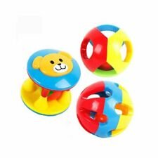 Educational Toy Hand Shake Baby Handbell Ball Toy Gripping Rattle Baby Rattle