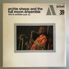Archie Shepp  Live in Antibes (Vol.2) Actuel 39 LP France 1971 Great copy!