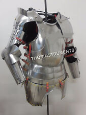 Armor Medieval Gothic Suit of Armor Half Suit Breastplate Nickel finish