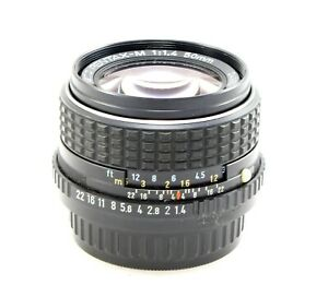 Pentax SMC-M 50mm f/1.4 - Mark to Front Optics