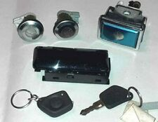 Peugeot 405 Phase 2 Plip remote control + trunk lock - doors look and glove box