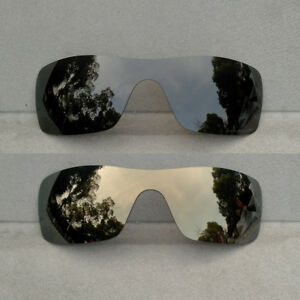 Black&Bronze Gold Replacement Lenses for-Oakley Batwolf Sunglasses Polarized