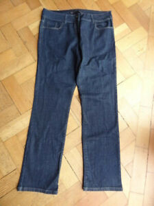 (201MAY) NEW! Size 16L *NEXT* Cute dark blue denim jeans chinos ladies/womens