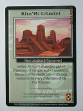 1999 Babylon 5 Ccg - Severed Dreams - Rare Card - Kha'Ri Citadel
