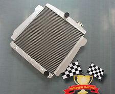 ALUMINUM ALLOY RADIATOR CHEVY CAR/SEDAN 350 V8 AUTO 1946-1948 HIGH PERFORMANCE