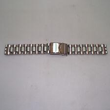 Cinturino acciaio  morellato mod. stainless steel ansa 17 fibbia pieghevole  b58