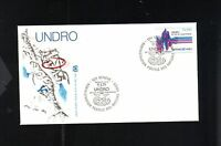 First Day Issue United Nations Geneva Undro Cas De Catastrophe 1979 FDC