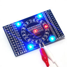 DIY Kit SMD Rotating Flashing LED Suite Training Circuit Electronic Skill Board