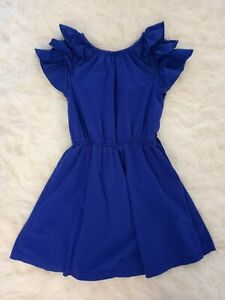 Gap Kids Girls Blue Dress Size M (8)