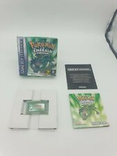 RARE POKEMON EMERALD Nintendo Gameboy ADVANCE Game boy GBA boxed boite OVP EUR