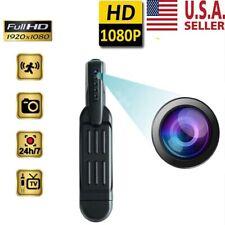 HD1080P Pocket Pen Camera Hidden Spy Mini Portable Body Video Recorder DVR US