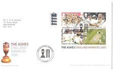 cover  topical England UK cricket The Ashes   FDC with insert