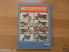 MOTORMAGAZINE 1979-80 ALL MODELS DUTCH MARKET COLOUR TESTI,ZUNDAPP,PUCH,OSSA, OM
