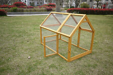 RUN FOR CHICKEN COOP RUN HEN HOUSE POULTRY RABBIT HOME NEST BOX COUP COOPS 1.4M