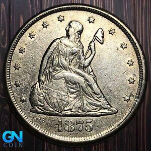 1875 CC 20 Cent Piece  --  MAKE US AN OFFER!  #K5993